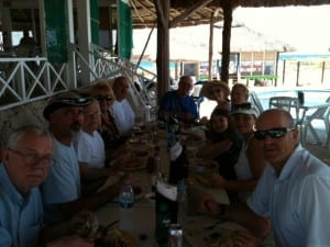 Lunch in Cozumel