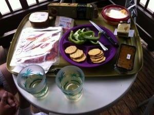 Our Gourmet Picnic at King's Canyon National Park