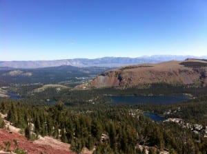 Lake Mary & Lake George in Mammoth Lakes, CA