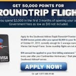Southwest Airlines Rapid Rewards Credit Card Offers