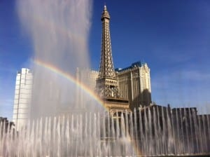 Free Fountain Shows Every 15 Minutes at the Bellagio