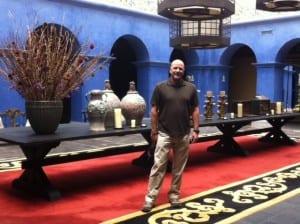 Lobby at Palacio del Inka