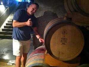 Barrel Tasting at Tierras Altas in Mendoza