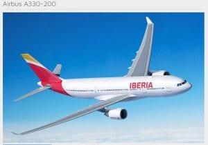 Iberia to Europe with Avios