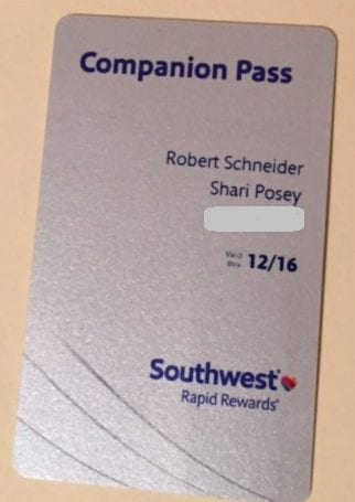 Southwest Companion Pass